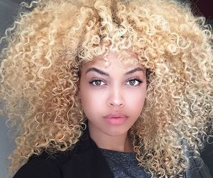 beauty, blonde, and meuf image