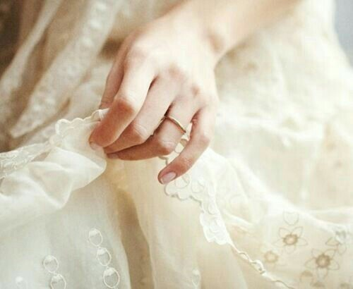 hand, delicate, and dress image