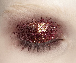 beauty, glitter, and cosmetics image