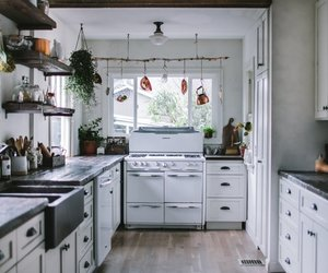 kitchen, home decor, and interior image
