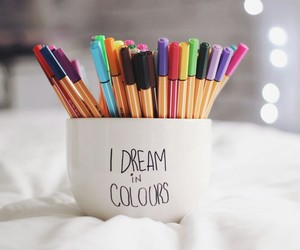 beautiful, colours, and dreams image