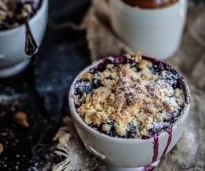 apple, berry, and crumble image