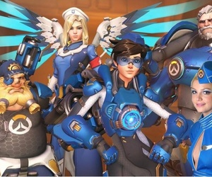 britney spears, uprising, and overwatch image