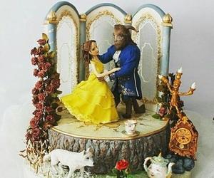 cake, dress, and princess image