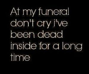 dead and funeral image