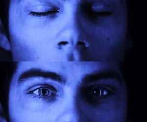 teen wolf, dylan o'brien, and eyes image