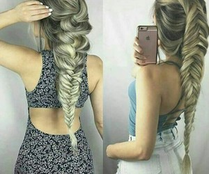 beautiful, hairstyles, and ouah image