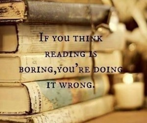 book, reading, and quote image