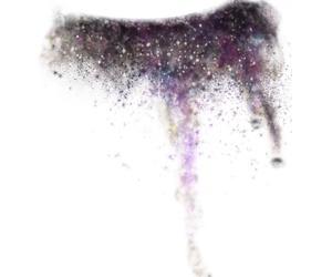 galaxy, make up, and overlay image