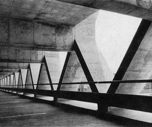architecture, brutalism, and concrete image