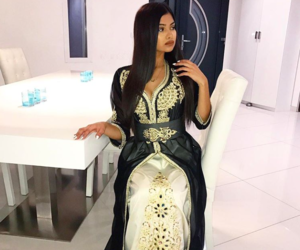 arab, arabic, and dress image