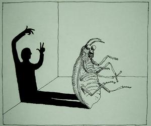 franz kafka, kafka, and Metamorphosis image