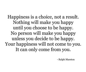 quote and happiness image