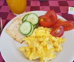 breakfast, cheese, and healthy image