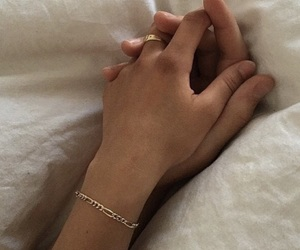 bracelet, tan, and hands image