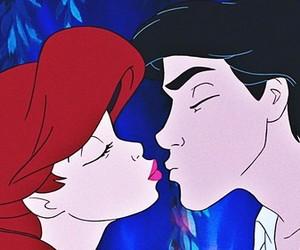 ariel, kiss, and disney image