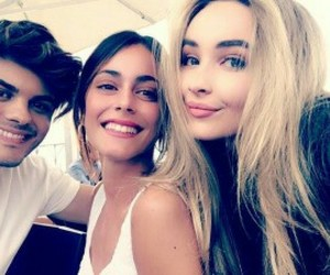 sabrina carpenter, abraham mateo, and ️tini image