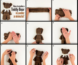 bear, diy, and step by step image