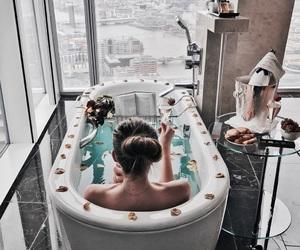 luxury, bath, and fashion image
