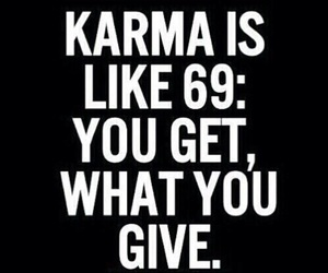 karma and quote image
