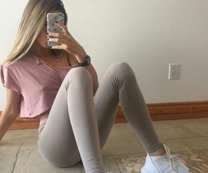 beauty, girl, and makeup image