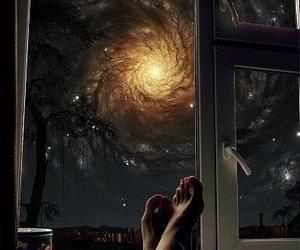 galaxy, lsd, and acid image