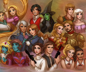 disney, tangled, and game of thrones image