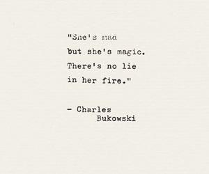 Bukowski, charles bukowski, and quote image