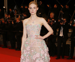Elle Fanning and cannes film festival image