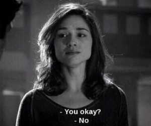 teen wolf, sad, and allison argent image