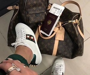 bag, Louis Vuitton, and gucci image