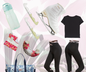 accessories, fashion, and figure skating image