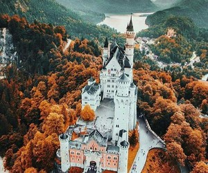 travel, castle, and nature image