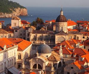 architecture, sea, and Croatia image