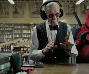 stan lee, Marvel, and man image