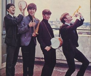 the beatles, the fab four, and havin' a gold ole time image