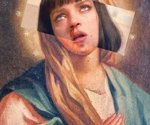art, pulp fiction, and aesthetic image