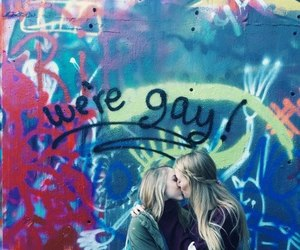 love, lesbian, and gay image