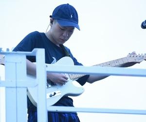 guitar, handsome, and korea image