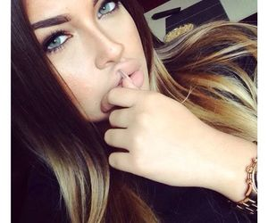 beauty, watch, and blue eyes image