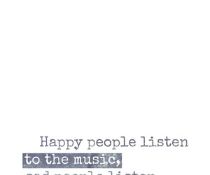 happy people, music & lyrics, and sad people image