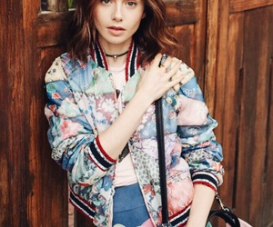 style and lily collins image