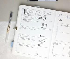 school, notas, and creativo image
