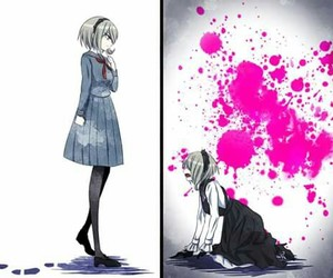 drv3 and kirumi tojo image