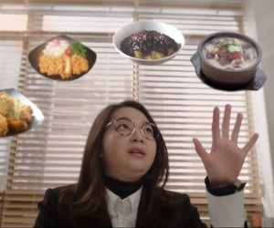 kdrama, oh my venus, and food image