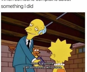 funny, meme, and the simpsons image