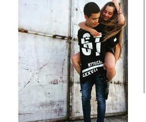 couple, happiness, and photograph image