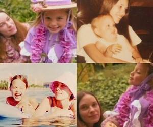 family portrait, motherhood, and young angelina jolie image