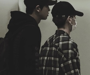 chanbaek, exo, and chanyeol image