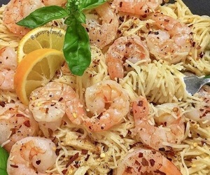 pasta and shrimp image